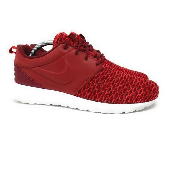42ac7410b16be Nike Roshe One NM Flyknit Red Men s Size 9.5. Nike.  M 5caeb760c953d821ba3da0fe. M 5caeb760b3e9173bc9c80fcc.  M 5caeb76116105d9e25db15b4
